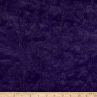 Shannon Minky Luxe Cuddle Marble Viola