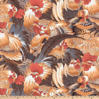 FreeSpirit Neddy's Meadow Roosters Natural