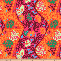 Kaffe Fassett Collective for FreeSpirit Bali Brocade Red