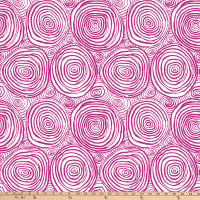Kaffe Fassett Collective for FreeSpirit Onion Rings Purple