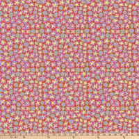 Kaffe Fassett Collective for FreeSpirit Primulas Orange