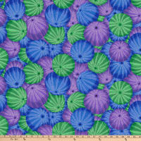 Kaffe Fassett Collective for FreeSpirit Sea Urchins Blue