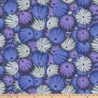 Kaffe Fassett Collective for FreeSpirit Sea Urchins Grey