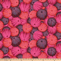 Kaffe Fassett Collective for FreeSpirit Sea Urchins Red