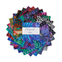 "Kaffe Fassett Collective Dark Design 5"" Charm Pack  42pcs"