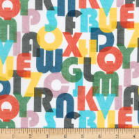 Kaufman A To Z Animals Letters White