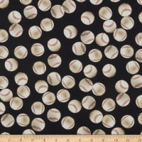 Kaufman Sports Life 5 Baseballs Black