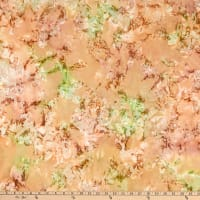 Kaufman Artisan Batiks Coral Reef Ice Crackle Ginger