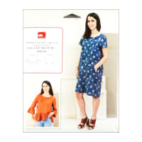 Liesl + Co. Gelato Blouse + Dress Sewing Pattern