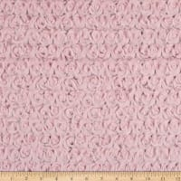 Shannon Minky Luxe Cuddle Frosted Rose Crystal Pink