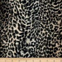 Shannon Minky Luxe Cuddle Cheetah Taupe
