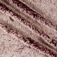 Shannon Minky Luxe Cuddle Frosted Shaggy Merlot