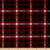 Baum Winterfleece Handsome Plaid Red