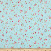 Lecien Antique Flower Pastel Floral Cloud