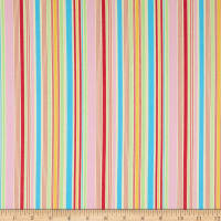Lecien Antique Flower Pastel Stripe Swiss Cheese