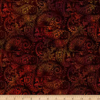 In The Beginning Fabrics Seasons Paisley Spice