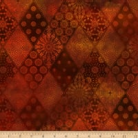 In The Beginning Fabrics Seasons Diamonds Spice