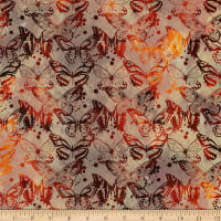 In The Beginning Fabrics Seasons Butterflies Spice