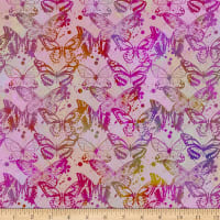 In The Beginning Fabrics Seasons Butterflies Multi