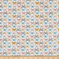 Poppie Cotton Wanderings Flutter White