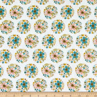 Poppie Cotton Wanderings Bloom White