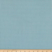 Poppie Cotton Wanderings Storm Blue