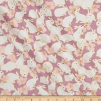 Quilt Gate Usagi Metallic Sheeting Lavender
