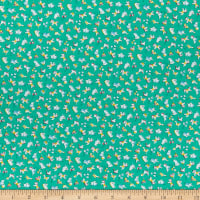 Lecien Retro 30's Child Smile Circus Green