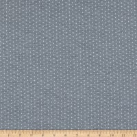 Telio Stretch Bamboo Rayon Jersey Knit Dot Light Grey Mix