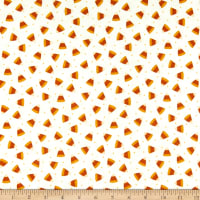 Maywood Studio Happy Jacks & Friends Flannel  Candy Corn Cream