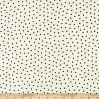 Maywood Studio Happy Jacks & Friends Flannel  Confetti Dots Cream