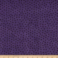 Maywood Studio Happy Jacks & Friends Flannel  Confetti Dots Purple