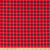 Maywood Studios We Whisk You A Merry Christmas!  Buffalo Plaid Black/Red