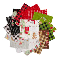"""Maywood Studio We Whisk You A Merry Christmas!  5"""" Charms Multi 42pcs"""