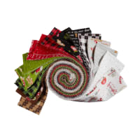 "Maywood Studios We Whisk You A Merry Christmas!  2.5"" Strips Multi 40pcs"