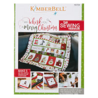 Maywood Studio We Whisk You A Merry Christmas!  Quilt Kit White Sewing Version