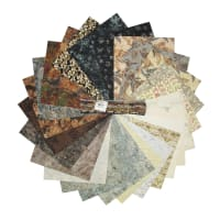 Hoffman Bali Batik Hefty 25 Half Yard Cuts Bundle Marshmellow