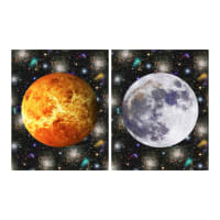 "Hoffman Digital Out Of This World 72""  Panel Sun & Moon Onyx"