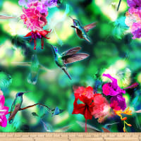 Hoffman Digital Hummingbird Haven Bird & Floral Hummingbird