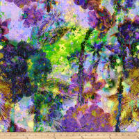 Hoffman Digital Through The Lens Floral Geo Purple Haze