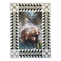 Hoffman Call Of The Wild Pre-Cut Border Kit Forest