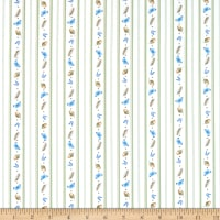 Maywood Studio Love Is Petite Stripe White