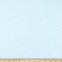 Maywood Studio Love Is Speckled Solid Light Blue