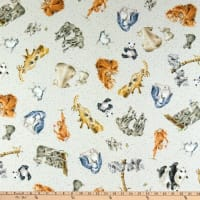 Maywood Studio Love Is Zoology Light Gray