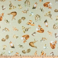 Maywood Studio Love Is Country Animals Light Tan