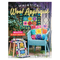 Whimsical Wool Applique Book