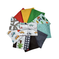Kaufman Fat Quarter Bundles Let's Go 10 Pcs