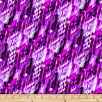 "Matrix 108"" Digital Wide Back Purple"