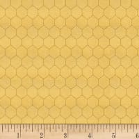 Bee A Keeper Small Honeycomb Gold