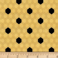 Bee A Keeper Medium Honeycomb Gold/Black